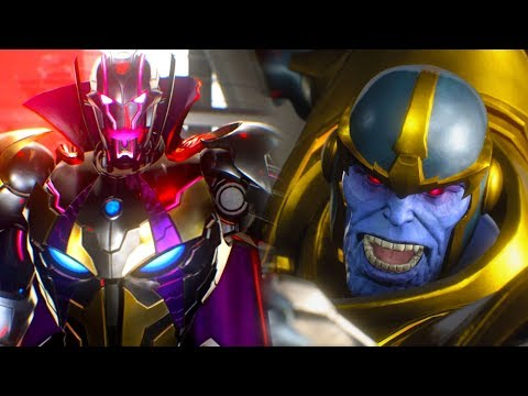 Thanos released from Prison to help fight Ultron Sigma | Marvel vs Capcom Infinite