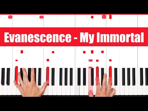 My Immortal Evanescence Piano Cover Music Playlist