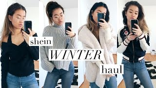 AFFORDABLE & COZY WINTER HAUL (ft. shein) | rachspeed