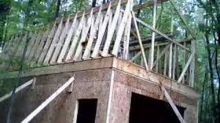 Garage Build Time Lapse 4-18-2008 to 5-2-2008
