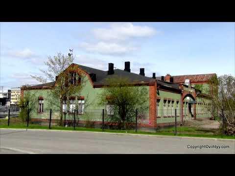 Vanha rautatierakennus Tampereella: Tavara aseman toimisto