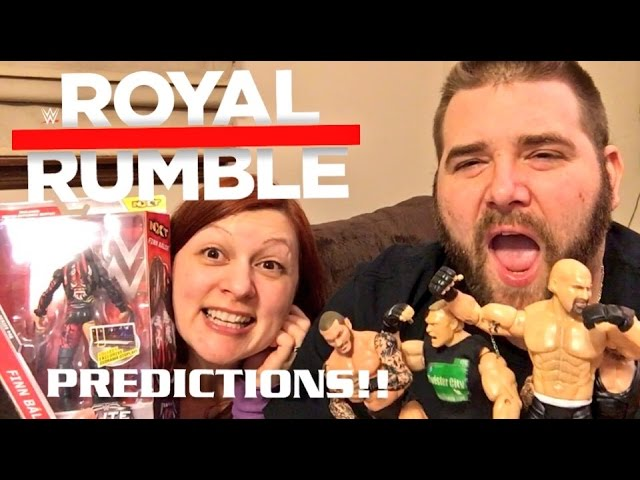 GRIMS WWE ROYAL RUMBLE 2017 PREDICTIONS!