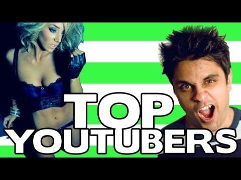 Top Youtubers - Los 10 canales con más suscriptores