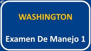 Examen De Manejo De Washington 1