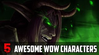 5 Awesome WoW Characters Never Shown In Game So Far
