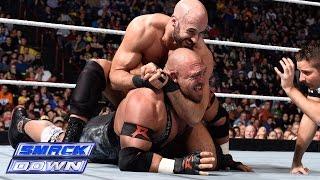 Ryback vs. Cesaro: SmackDown, Nov. 7, 2014