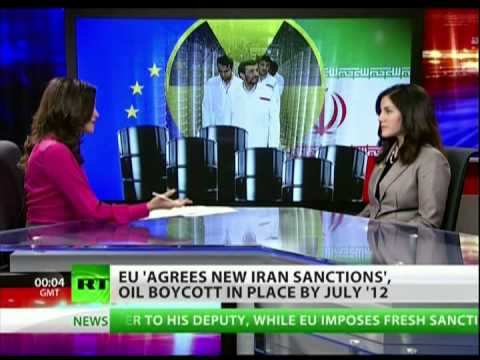 IRAN SELLS OIL IN GOLD & TELLS USA & EU TO STICK IT!! UP YOURS!! WE DONT NEED YOU!!