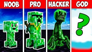 Minecraft NOOB vs PRO vs HACKER vs GOD : CREEPER MUTANT EVOLUTION in Minecraft | Animation