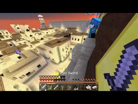 Minecraft pe un server w Gaby Assasins Ep #3