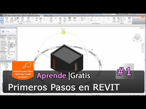 Revit Architecture Tutorial Basico Starter 01 online classes
