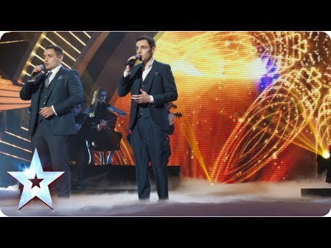Richard and Adam sing 'Somewhere' from West Side Story | Semi-Final 1 | Britain's Got Talent 2013