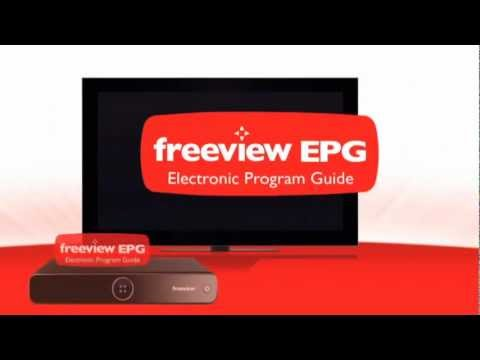 How to get the Freeview EPG