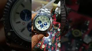 Stylish men wrist watch border imported