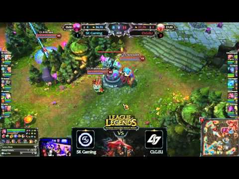 Round 1 : CLG.eu vs SK - Match 2 - LoL ECC: Poland, Warsaw 28-29.07.2012