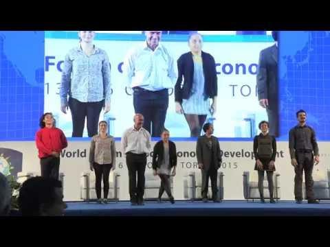 Cirko Vertigo for 3rd World Forum of Local Economic Development