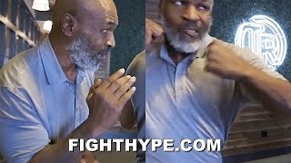 "MIKE TYSON DROPS KNOWLEDGE ON FEROCIOUS PUNCHING LIKE HIM; ""PAYING IT FORWARD"" TO NEXT GENERATION"