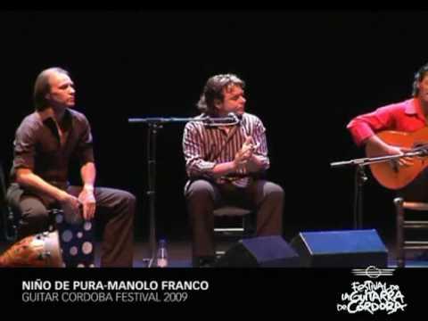 Niño de Pura y Manolo Franco - Cordoba Guitar Festival 2009