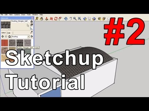 Google Sketchup 7 tutorial #2: 3D Phone