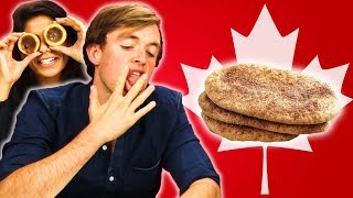 Irish People Taste Test Canadian Desserts