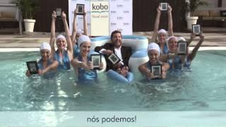 Novo Kobo Aura H2O, à prova d'água, e tudo mais…