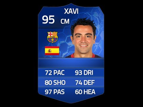 FIFA 14 TOTY XAVI 95 Player Review & In Game Stats Ultimate Team