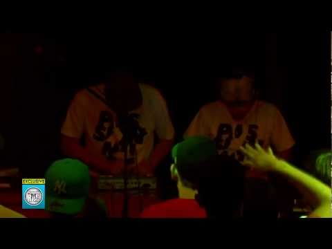 "DJ Czarny/Tas - ""Passion, music, hip-hop"" (live!) @ Fat Beats - 01.07.2011"