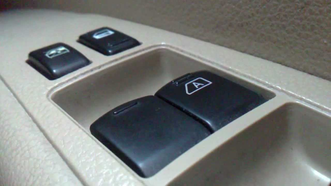 How To Restore Auto Up Driver Power Windows In Nissan