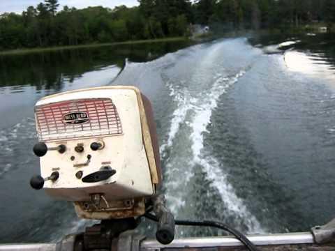 1962 West Bend Shark 7 5hp Outboard Motor Youtube
