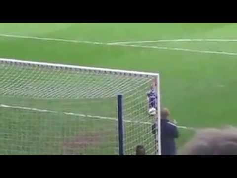 Chelsea Baby Doing The Goal In Stamford Bridge-Funny Moment