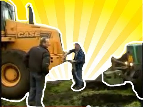 ciągnik,  videos showing tractor vast in america