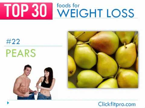 Best Weight Loss Foods - Top 30 Countdown