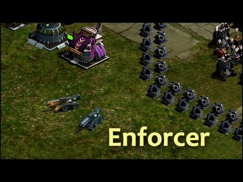 Enforcer Tanks in action