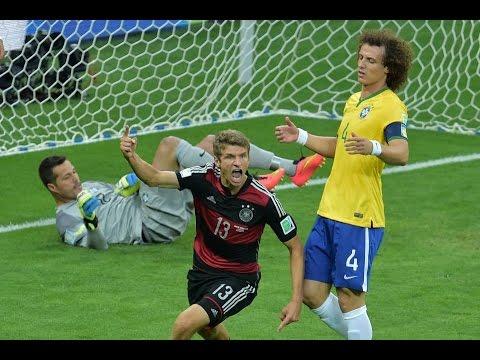 Germany vs Brazil 7 - 1 Semi Final World Cup 2014