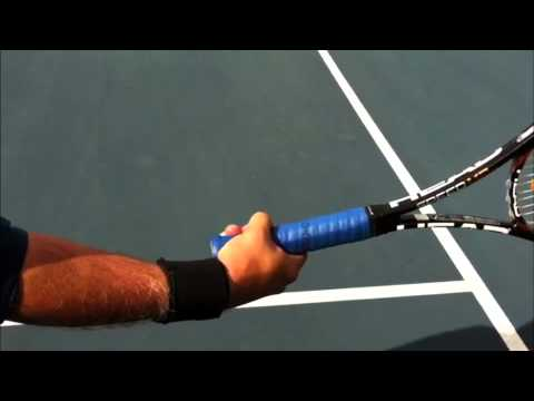 how to hit extreme topsin tennis