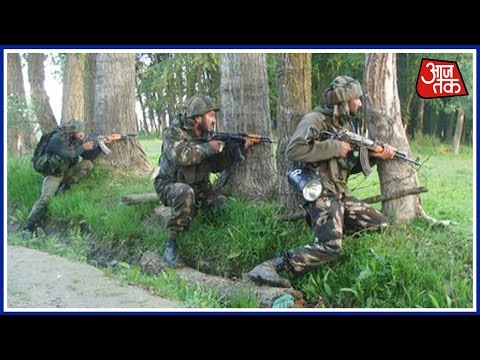 J&K: Gunbattle With Terrorists Continues In Sopore
