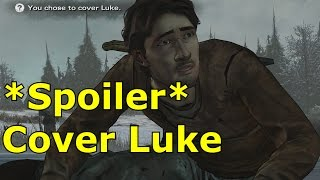 Cover Luke Outcome Luke Dies Death The Walking Dead Episode 5 Gameplay Let