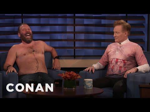 Bert Kreischer Takes Off His Shirt On CONAN - CONAN on TBS