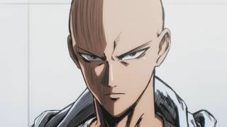 One Punch Man - Training Scene - From E03 The Obsessive Scientist [ENGLISH DUB!]