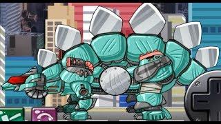 Dino Robot Blade Stego - Tank transformer robot dinosaur (Dino Robot Games)