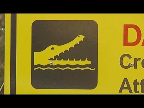 Human remains found in crocodile in Australia