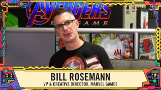 Marvel Games Revealed with Bill Rosemann LIVE from SDCC 2019!