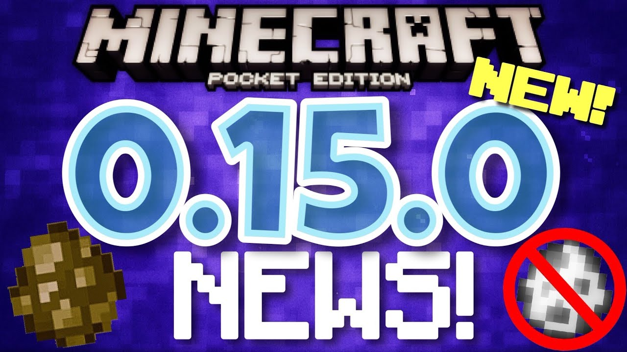 ✔️Minecraft PE 0.15.0 - UPDATE NEWS 0.15.0 // upcoming release date, new mob, and MORE [MCPE 0.15.0]