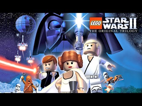 Lego Star Wars II walkthrough part 1