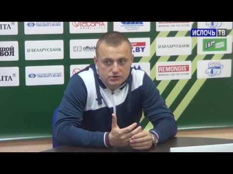"""Виталий Жуковский прокомментировал игру с """"Минском"""""""