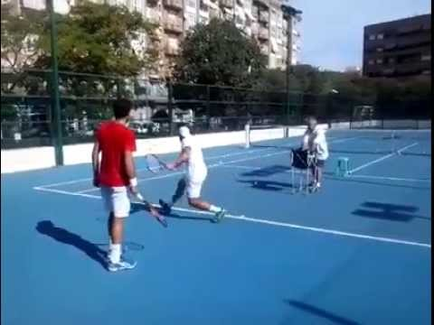 Entrenamiento Tenis, David Ferrer