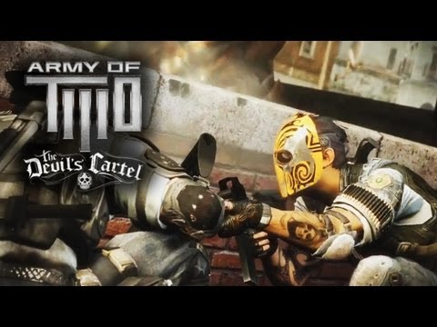 Army of Two The Devil's Cartel Gameplay | Review of Coop Gameplay Weapons Xbox 360/PS3/PC