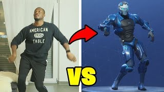 REAL LIFE FORTNITE DANCE CHALLENGE!