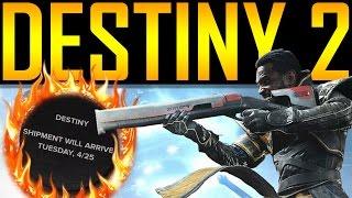 Destiny 2 - GAMESTOP LEAK!