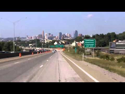 Driving North Through Cincinnati, Oh