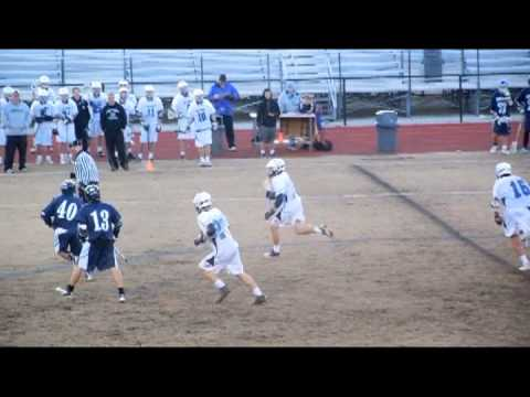 Shane Gottberg #20 White Lake Norman High School vs Willmington Hoggard 3-27-2013